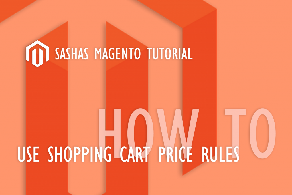 Shopping cart price rules